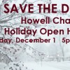 Members are gearing up for the Howell Area Chamber of Commerce Annual Holiday Open House