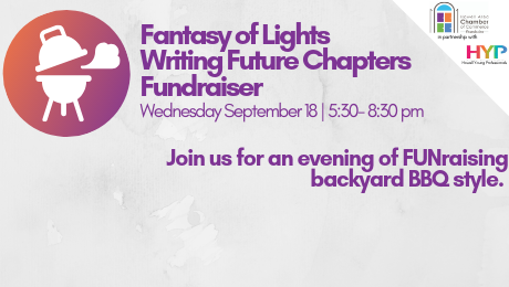 Writing Future Chapters – Fantasy of Lights Fundraiser